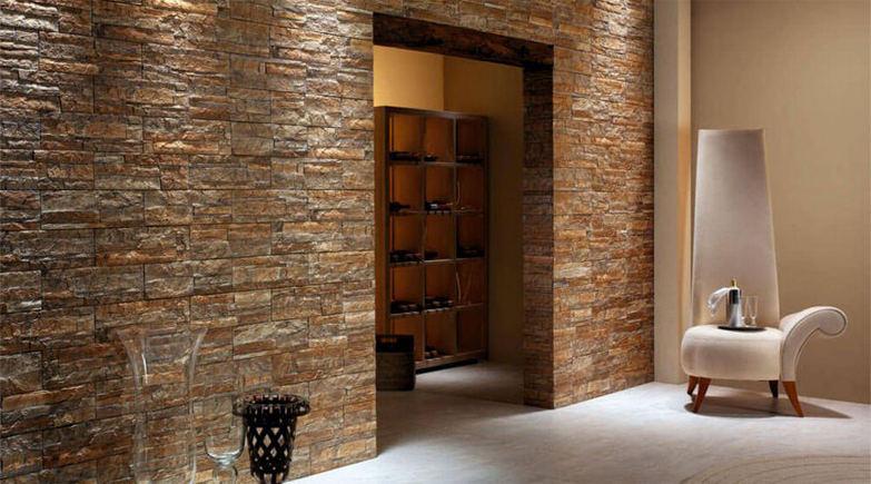 Внутренняя отделка квартиры декоративным камнем