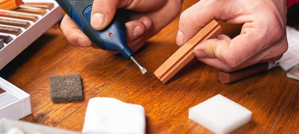 Как устранить царапины, трещины и сколы