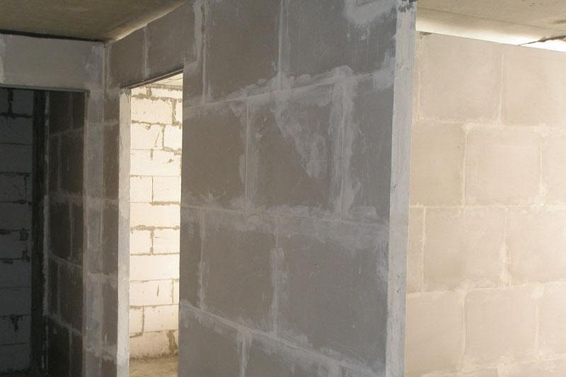 Внутренние стены из ПГП